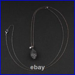 Ole Lynggaard Argent Massif Pendentif A3000-301. / Diamant. Forest. Pointes /